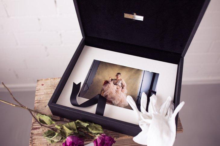 FolioBox mit Portraits