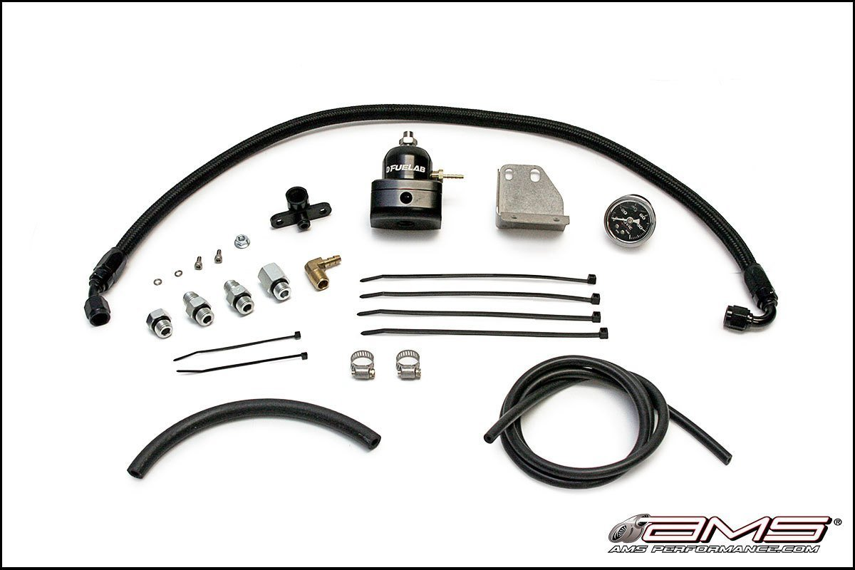 Ams Fuel Pressure Regulator Kit Evo X