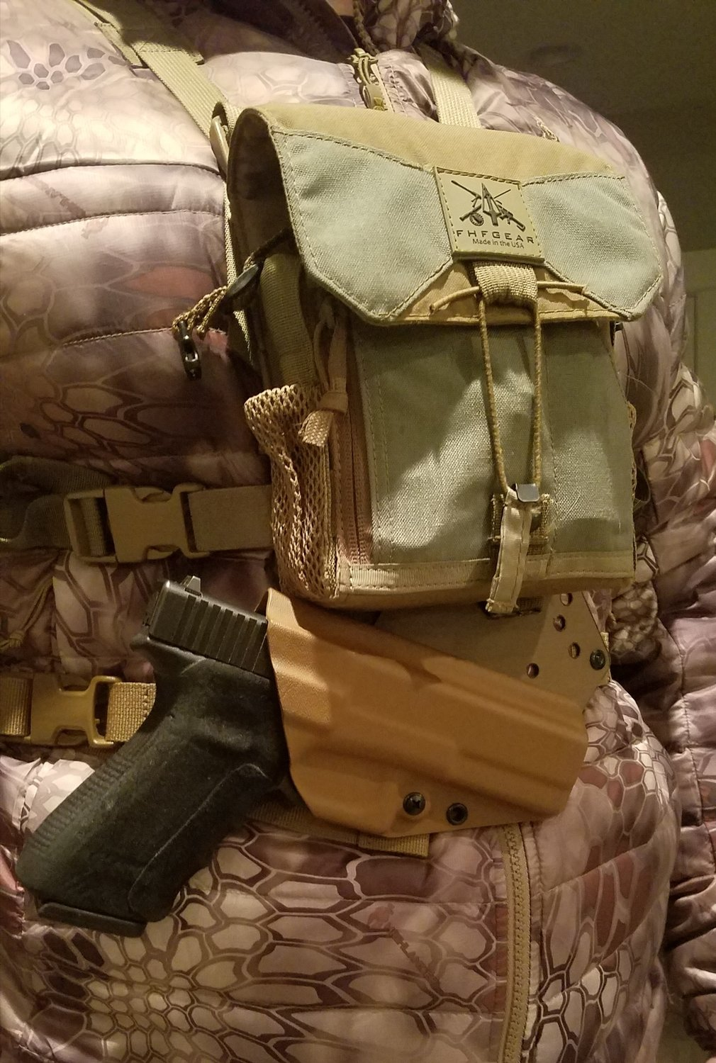 Bino Harness Chest Holster