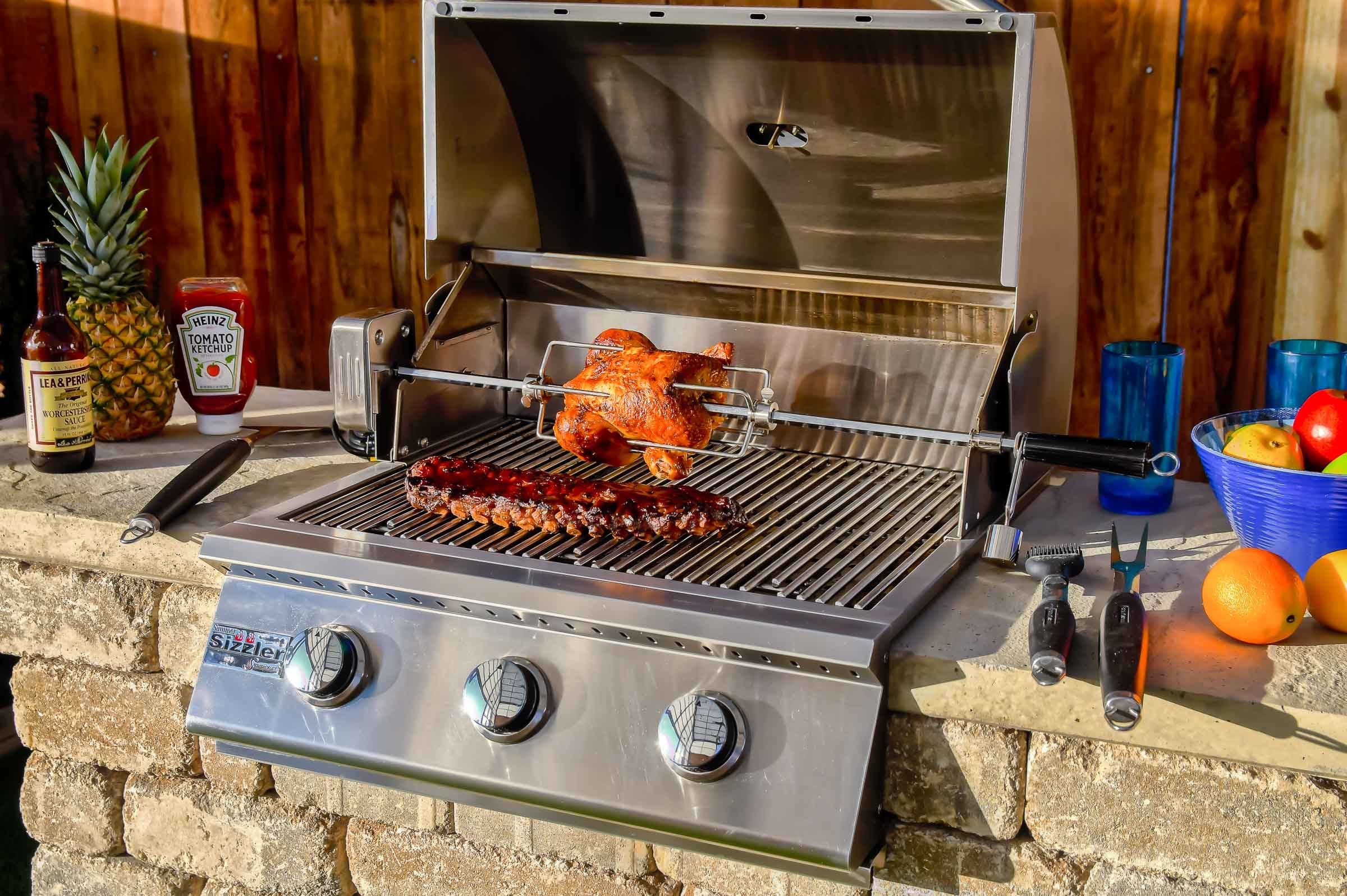 Outdoor Grill Stations | Shop Romanstone for impressive ... on Patio Grill Station id=21992