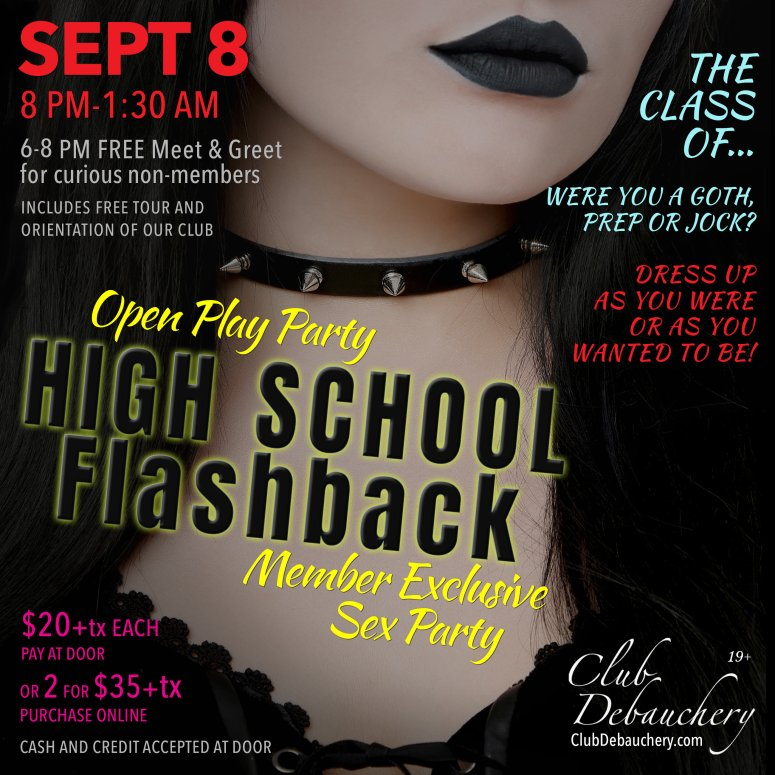 Open Play Party: Highschool Flashback 00024