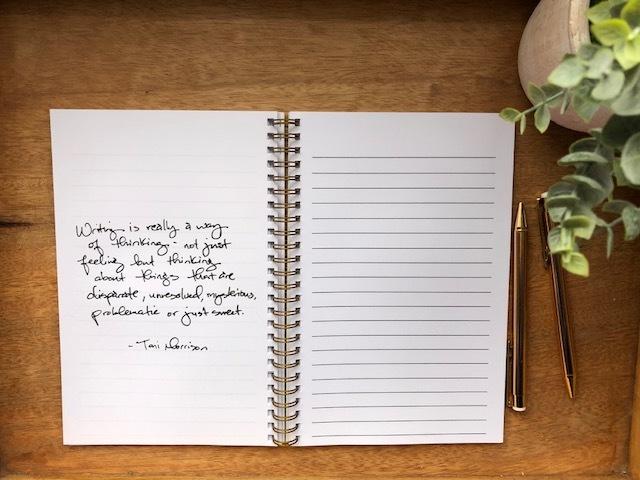 Dear Woke Brown Girl Writing Journal