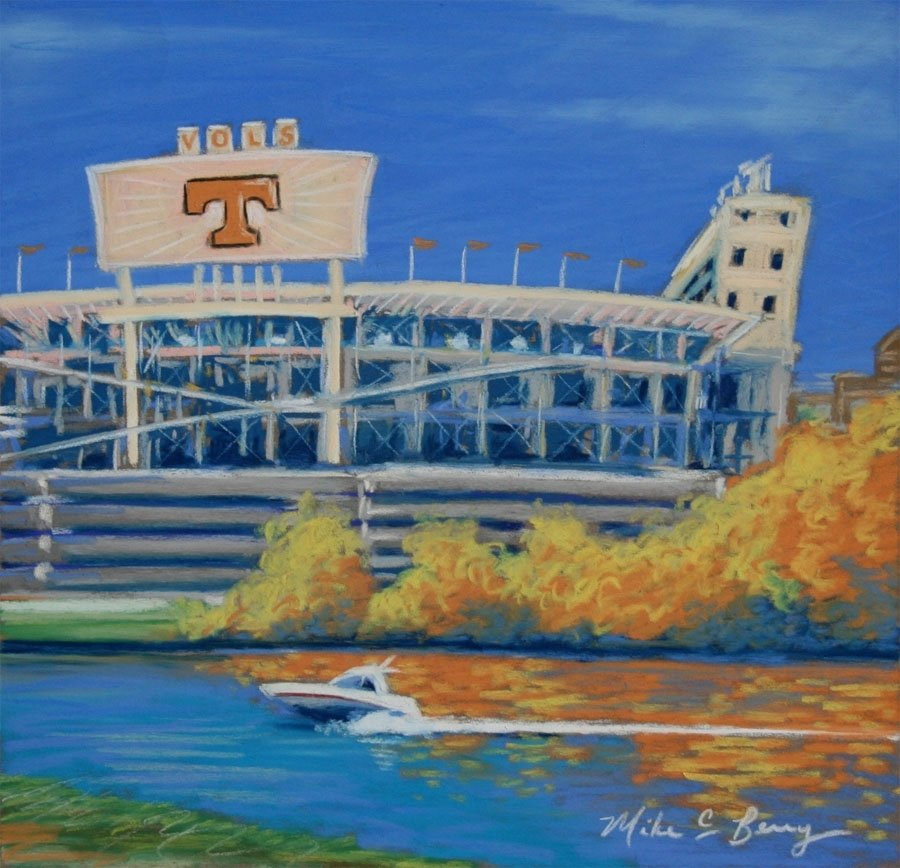 Neyland Stadium in the Fall MCBUT002