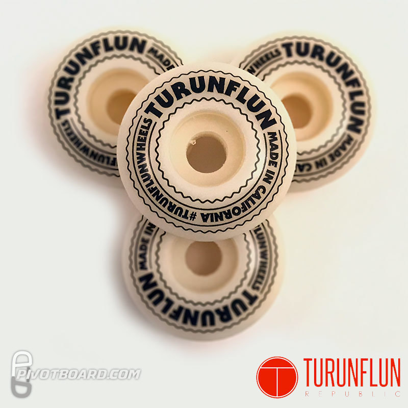 Turunflun Republic Wheels - 54mm - 102a - White