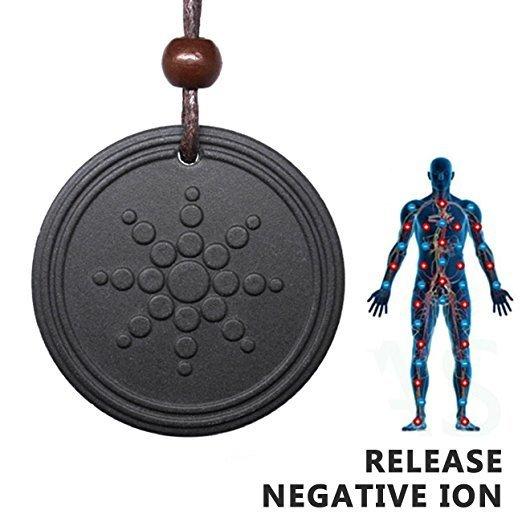 Anti Radiation Shield EMF Neutralizer Negative Ions Energy Pendant Necklace Orgone Pendant 00003