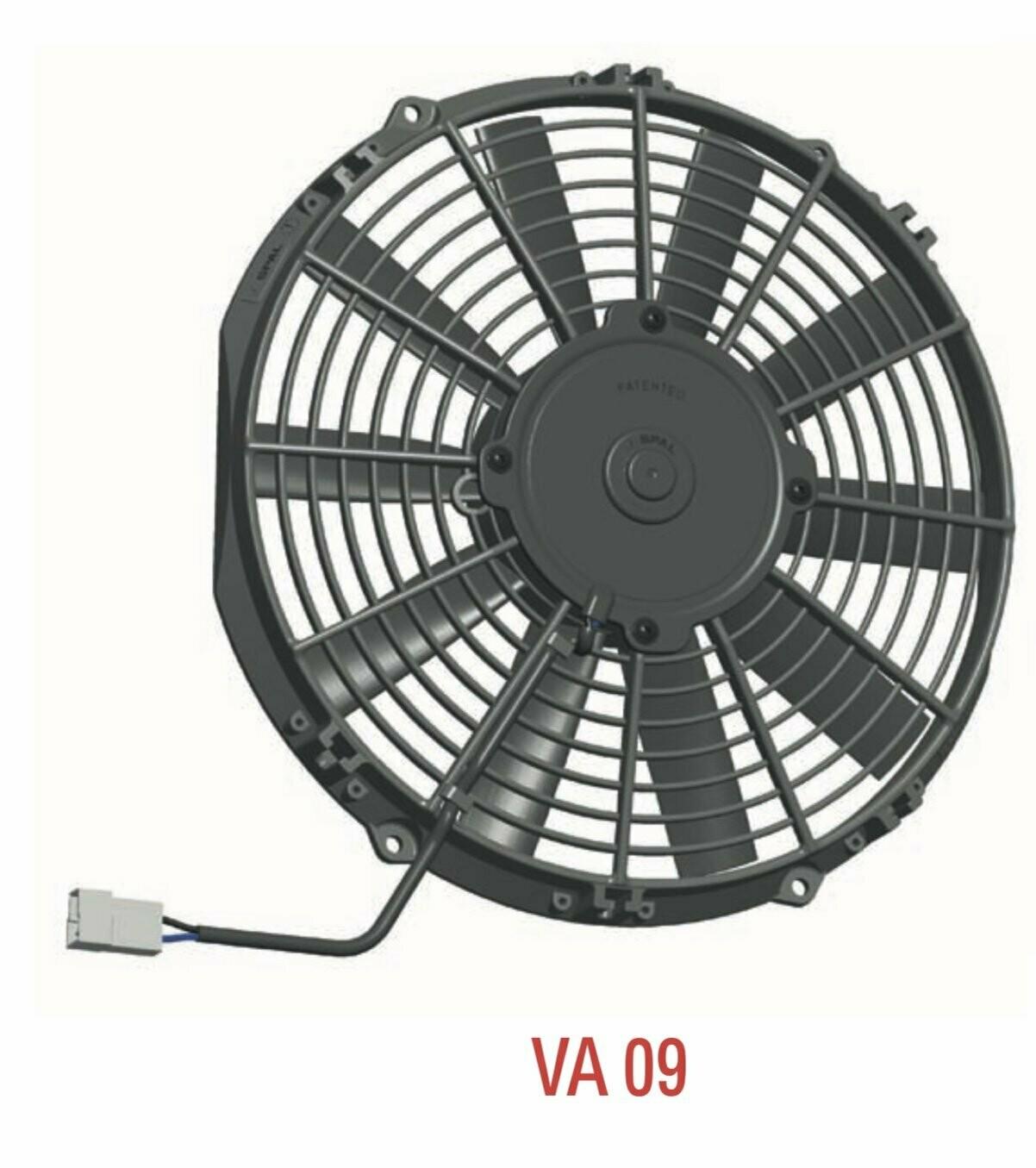 Spal 11 280mm Cooling Fan Va09 Ap12 Ll 27s 12v 826