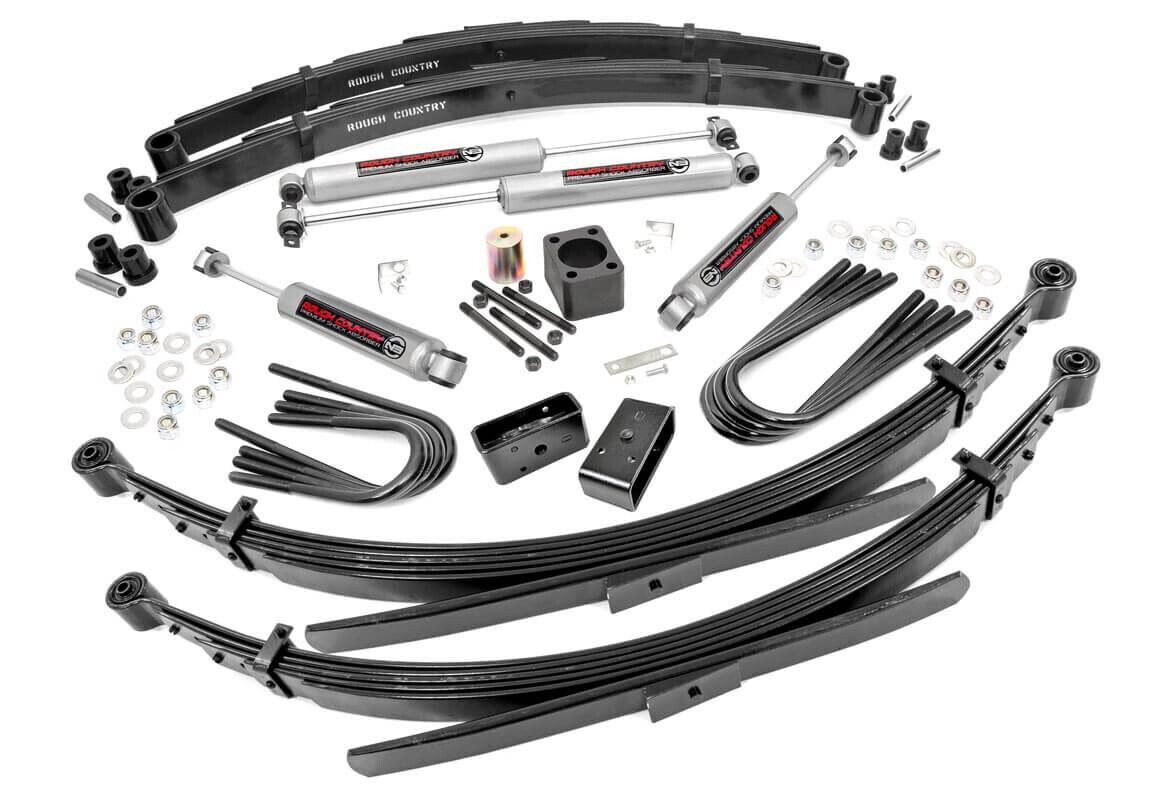 Rough Country 6 Inch Gmc Suspension Lift System For 77 91