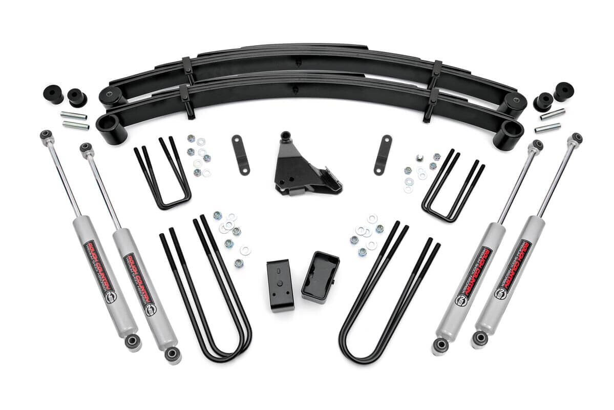 Rough Country 4 Ford Suspension Lift Kit For 99 04 F 250