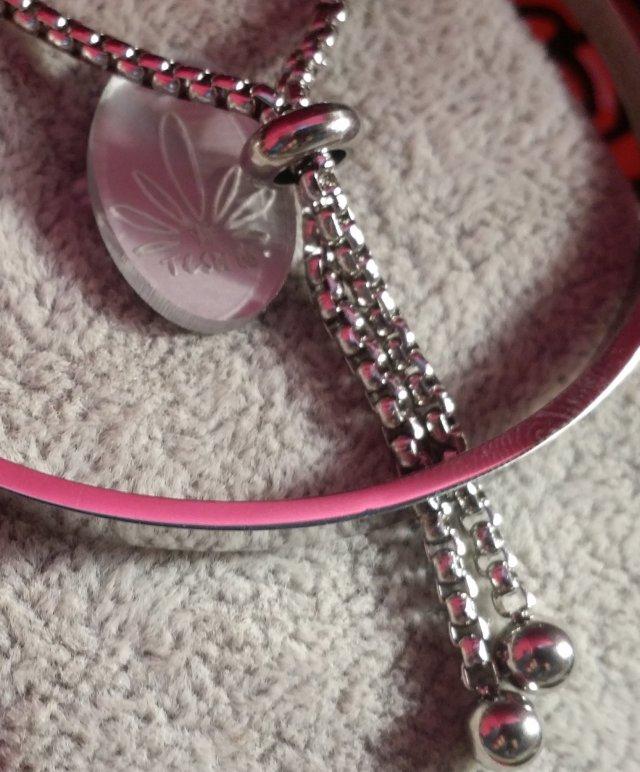Stainless Steel Bangle Lariat Bracelet 00139