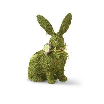Mossy Twig Bunny with Collar