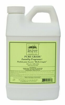 Pure Grass Laundry Fragrance Refill 64 Oz.