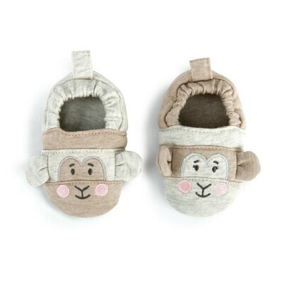 'Off To Explore' Monkey Booties
