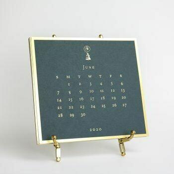 2020 Downton Abbey Engraved Easel Calendar