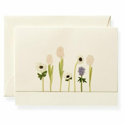 Le Fleur Garden Flowers Boxed Note Set