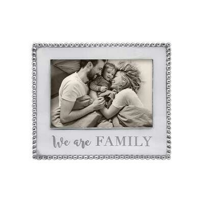 We Are Family Beaded 5 X 7 Frame