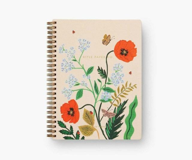 Iceland Poppy Spiral Notebook