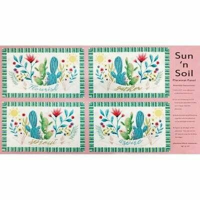 Sun Soil Placemat Panel B-9455P-22
