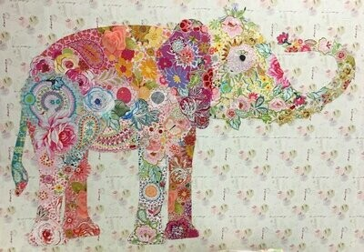 Lulu Elephant Collage
