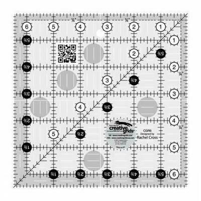 CGR6 Ruler 6 1/2 sqaure
