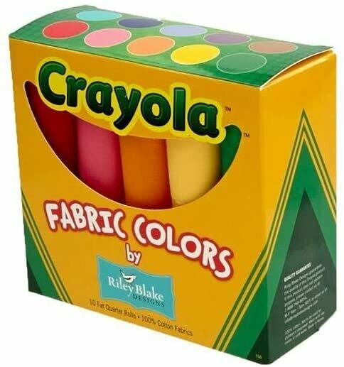 Crayola Solids Fat Quarter