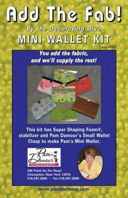 Fabric Mini Wallet Kit