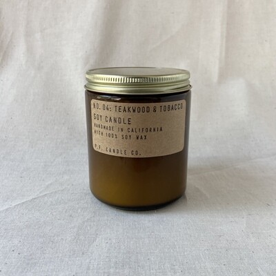 Pf Candle Co - Teakwood & Tobacco