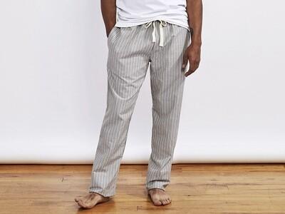 Coyuchi Men's Pajama Pant- Mid Gray