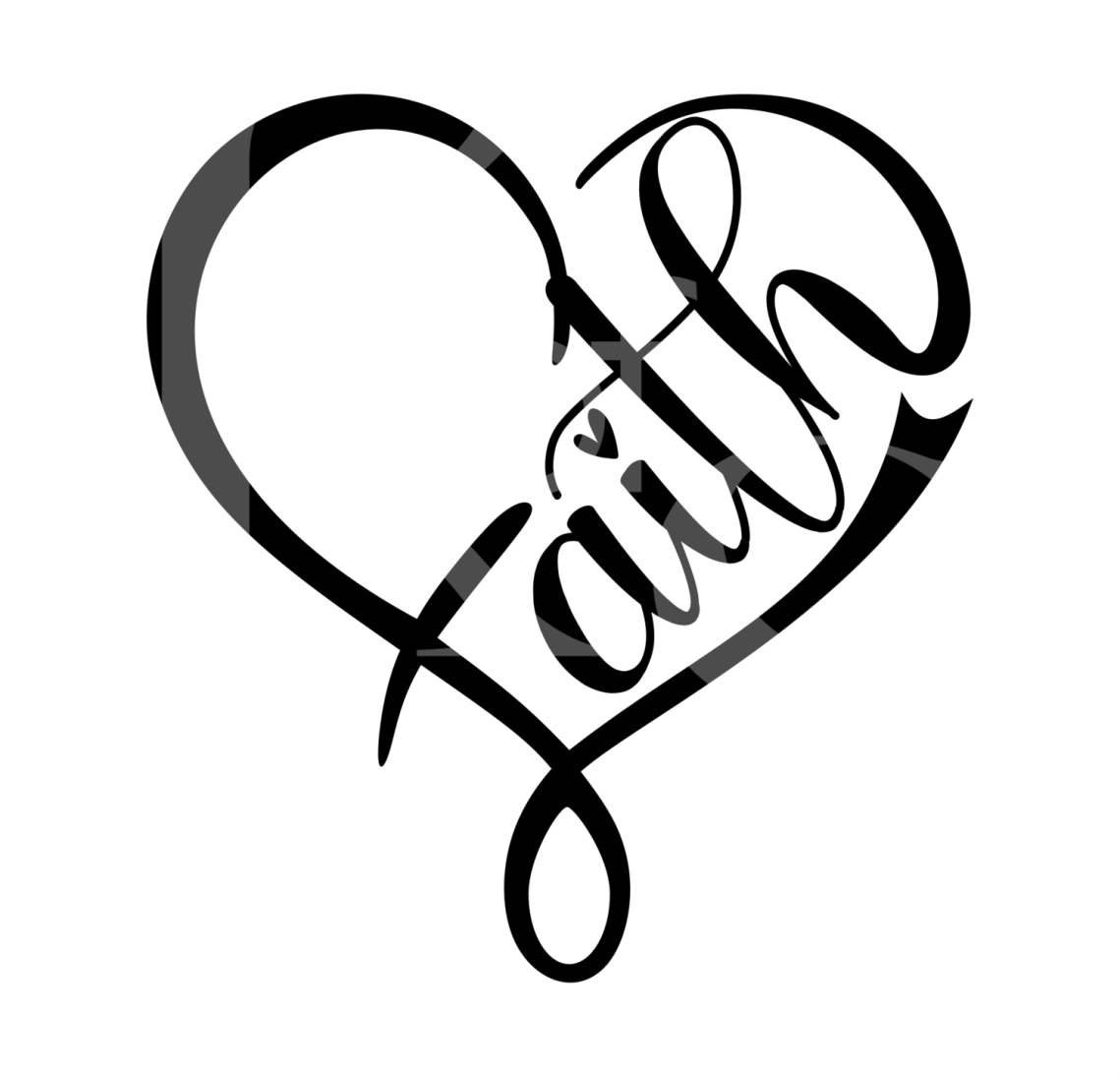 Download Faith Heart 2 SVG, Faith Svg, Jesus SVG, Religious Svg ...