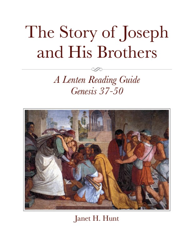 The Story of Joseph and His Brothers - A Lenten Reading Guide 00000