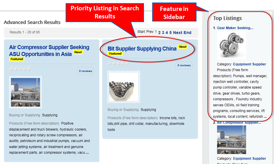 Feature your listing