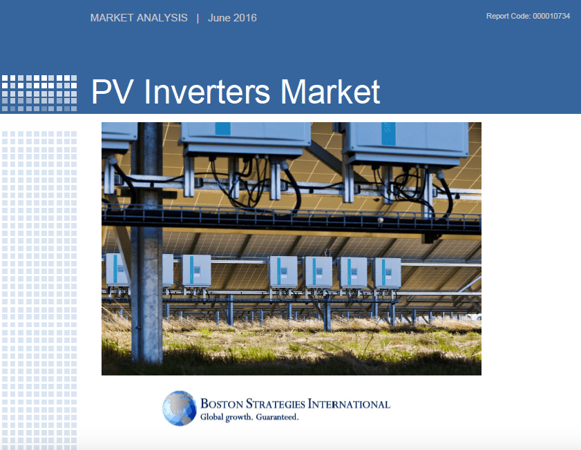 PV Inverters Market - Stats & Summary Findings 10743