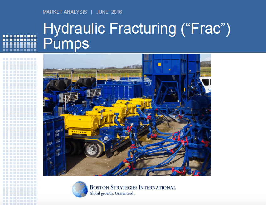 "Hydraulic Fracturing (""Frac"") Pumps - Capacity Section 10753"