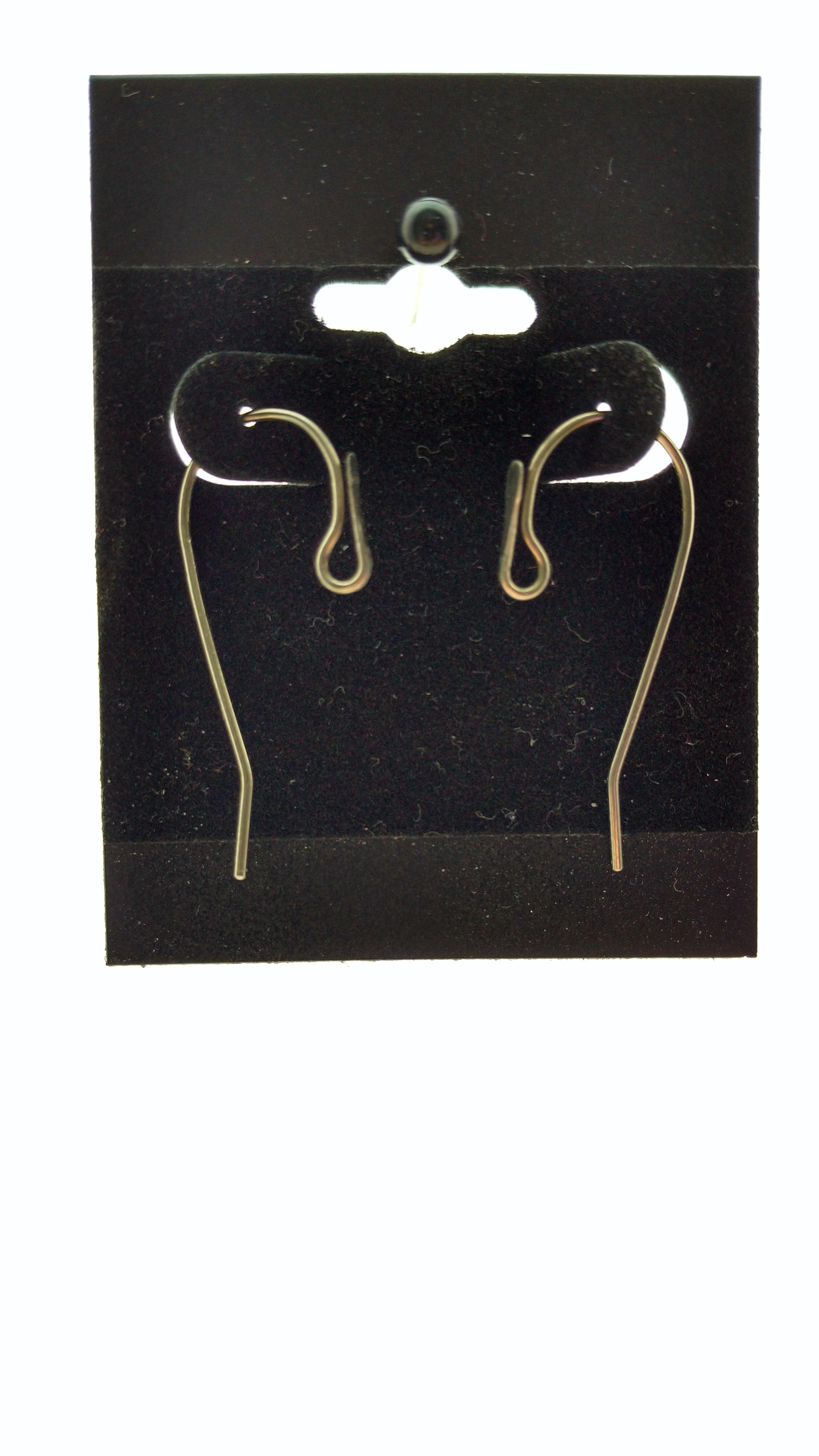 Hypoallergenic Interchangeable Shepherd Hook Earrings 17-01