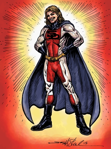 YOUR Superhero Powers Report - 3-5 pages covering your 3 Superhero Powers and how to develop them 0000001