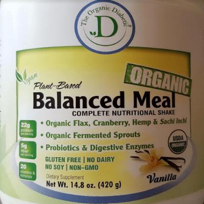Vanilla Bean, Plant Based Vegan Protein Powder Complete Nutritional Shake - 2 lb (840g) 00004