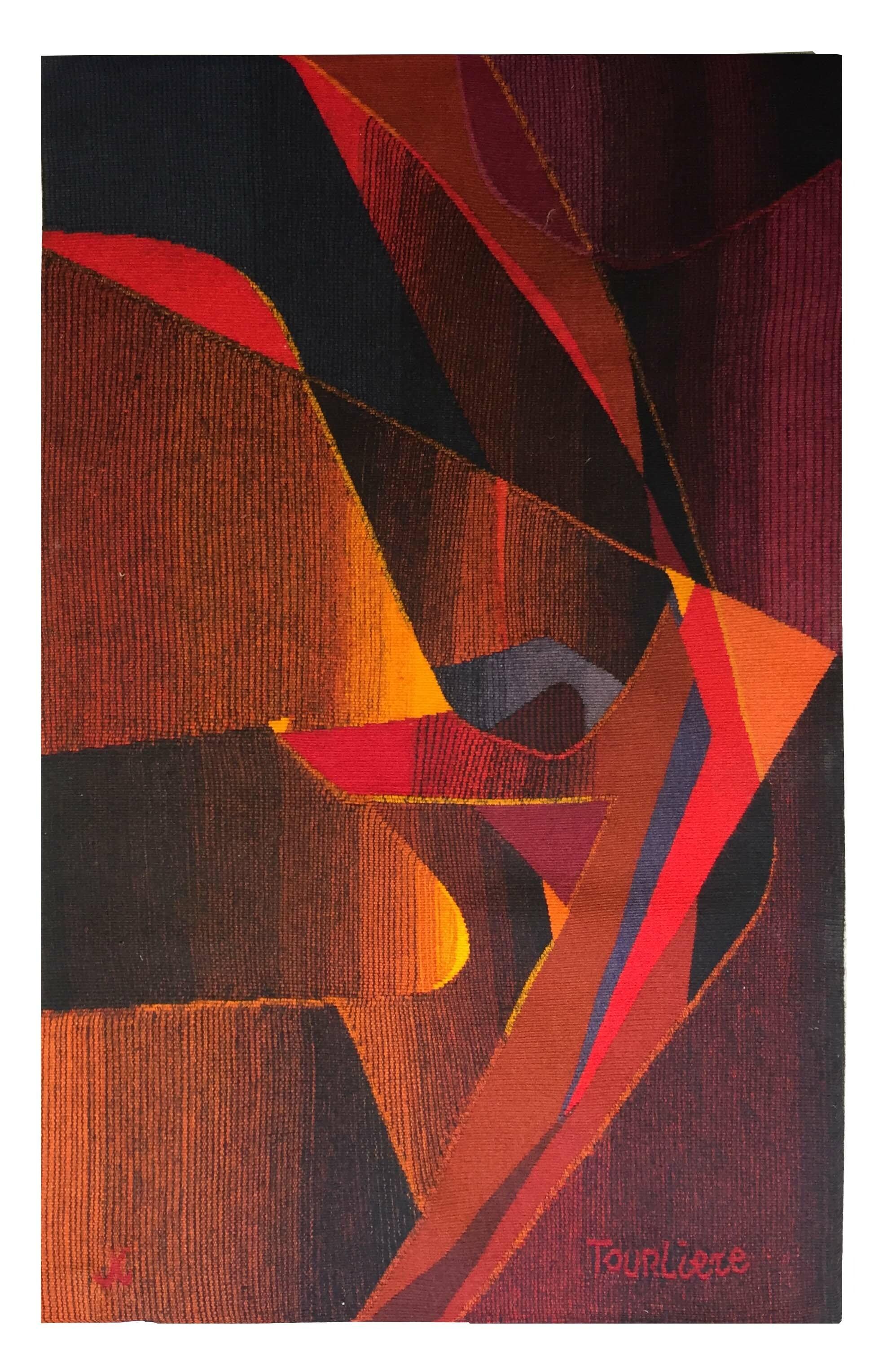 tapisserie aubusson moderne d209