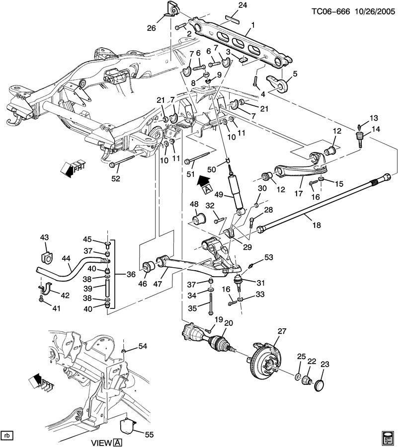 Chevrolet Silverado Parts Diagram