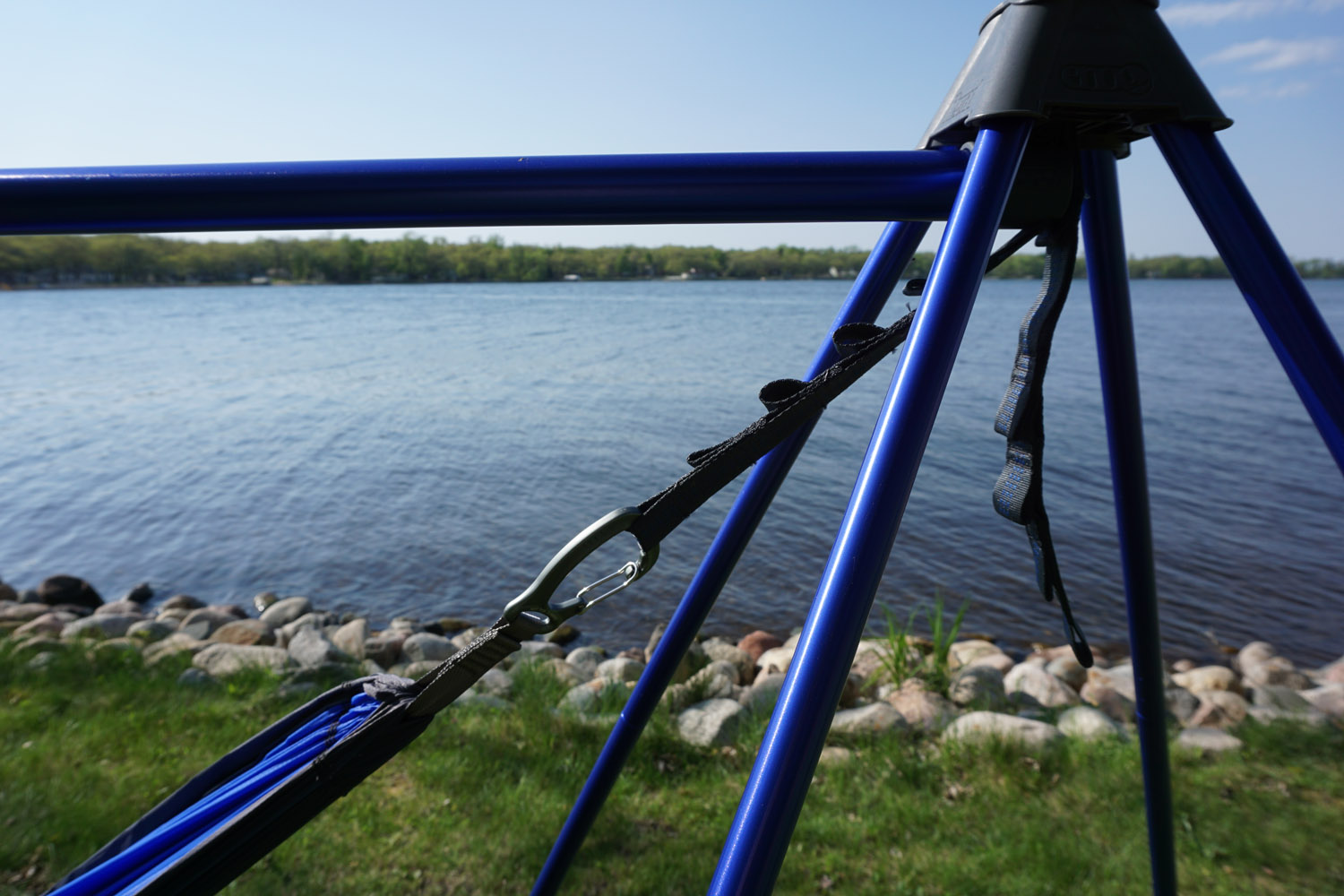 Relax Anywhere With Eno Nomad Hammock Stand