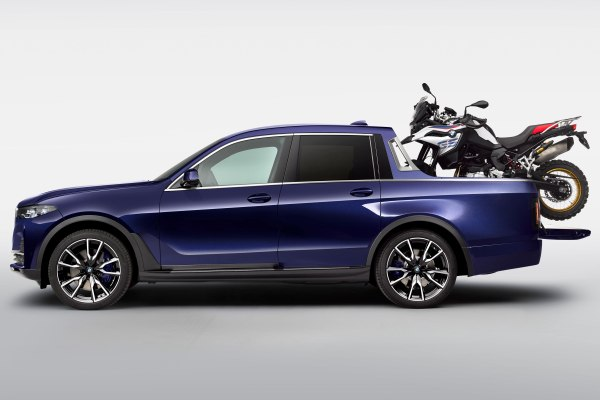 The BMW X7 Pickup Truck Is Real, and It Looks Like a Yacht ...