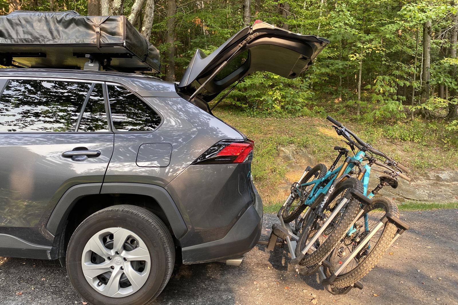best lightweight hitch bike rack thule
