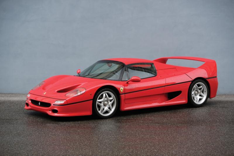 1995 Ferrari F50 coupe- autohage.com
