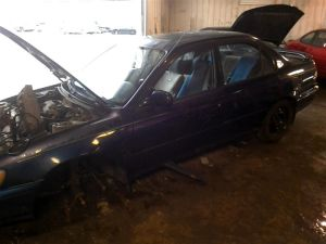 95 96 97 TOYOTA COROLLA AUTOMATIC TRANSMISSION FWD 7AFE