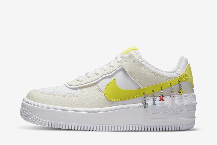 Nike Air Force 1 Shadow Jaune DJ5197-100 - Crumpe