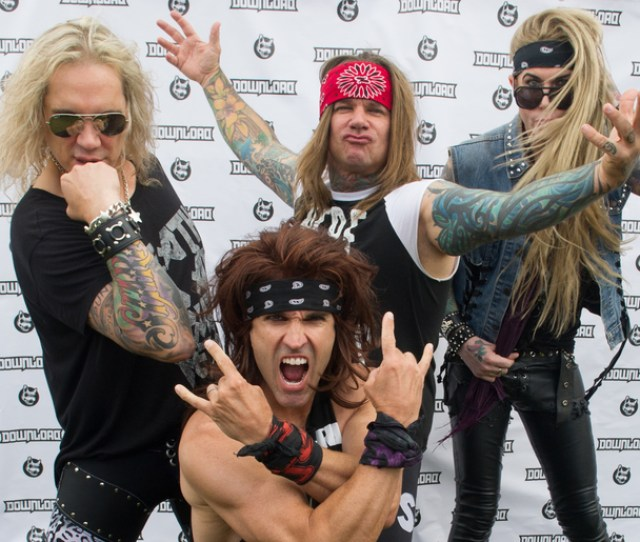 Steel Panther Faces Backlash From Social Justice Warriors For Sexist Pussy Melter Guitar Effect Waaf 107 3 Fm