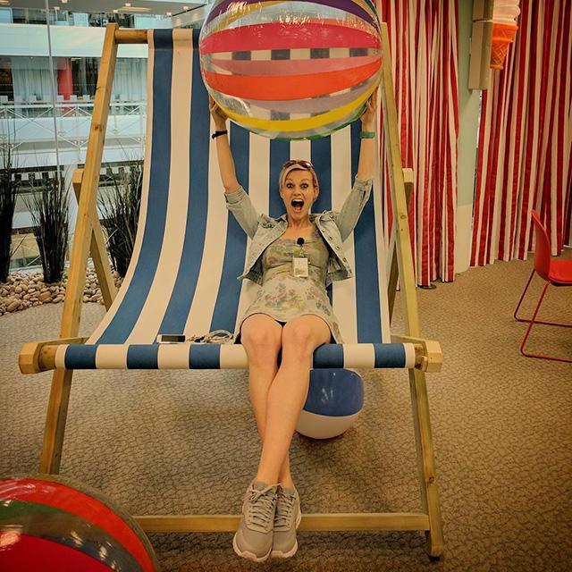 Massive Google Beach Chair