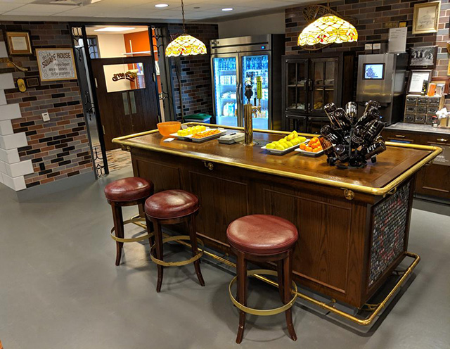 Google Office With Cheers Bar