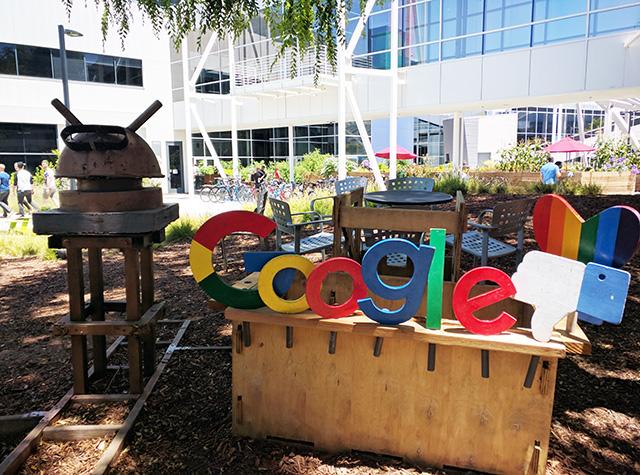 Google Display With Facebook Thumbs Down At GooglePlex