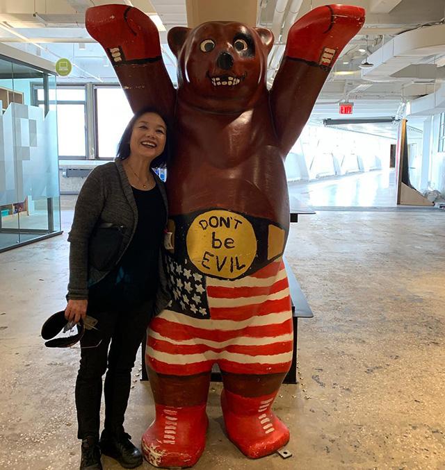 Google Don't Be Evil Boxing Bear
