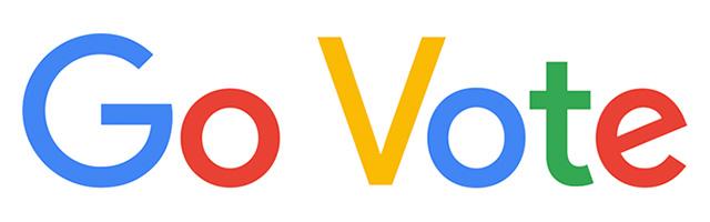 Google Doodle To Go Vote
