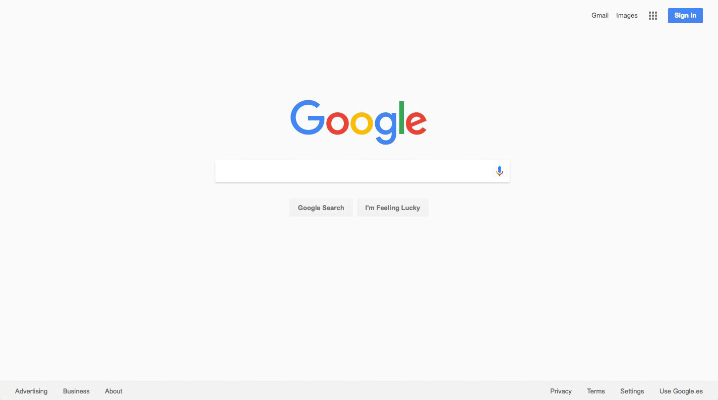 Google Home Page Testing Gray Background Instead Of White
